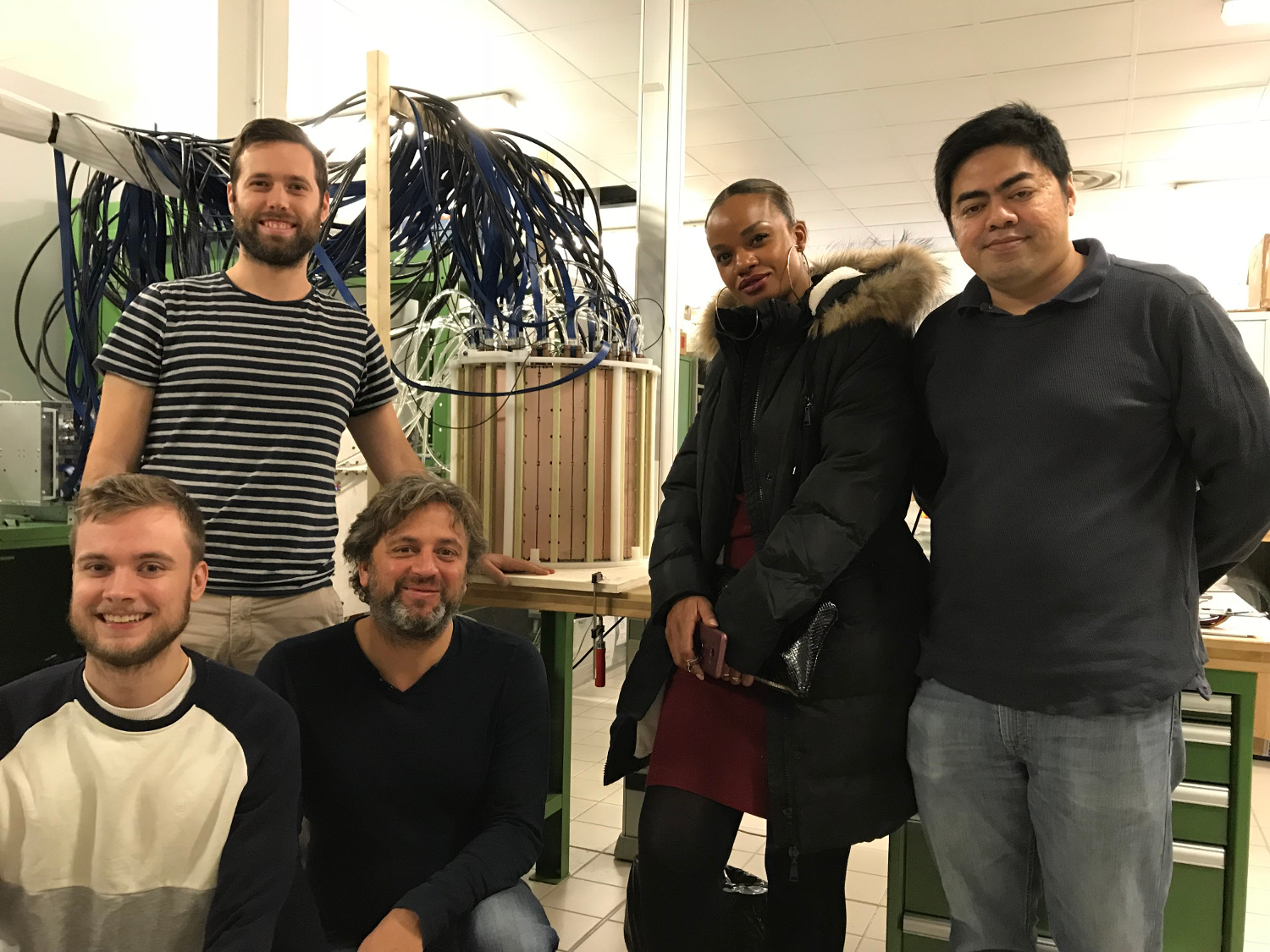Weeroc team with a new 13k channel PET detector prototype